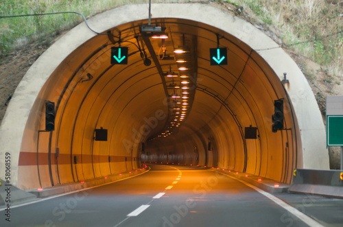 Aluminium Tunnel tunnel entrance