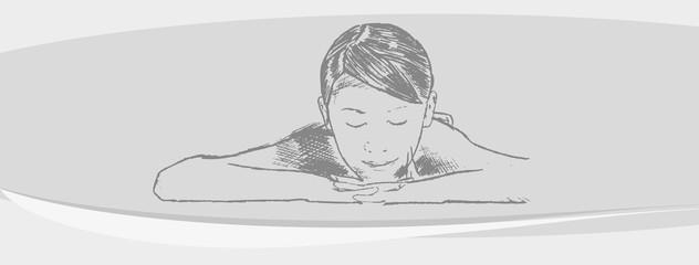 Relax Massage Mädchen Enspannung