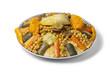 Moroccan couscous dish