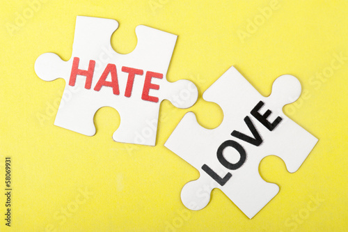 Hate versus love