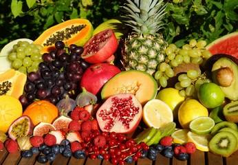Frische Tropische Früchte