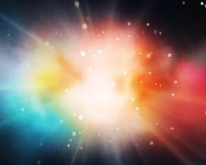 красочный взрыв