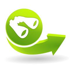 rechercher sur symbole vert