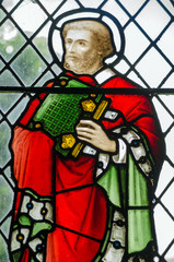 Saint Barnabas Stained Glass window