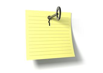 Keynote Key In A Note