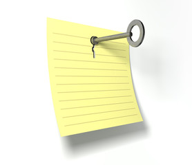 Keynote Key In A Note