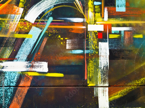 Abstract Graffiti Segment