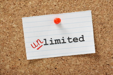 Limited is changed to Unlimited