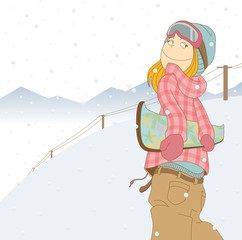 SnowBoarder_Woman02