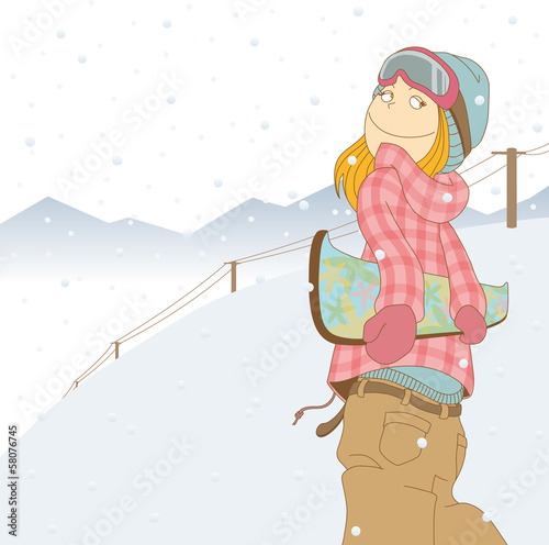 SnowBoarder_Woman02