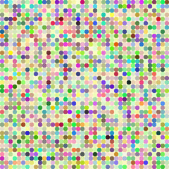 Multi-colored circles background illustration