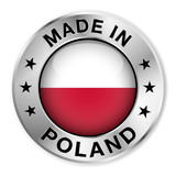 Made In Poland Silver Badge