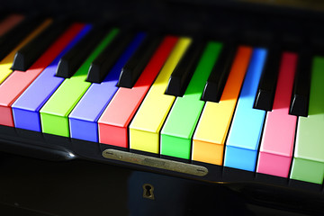 PIANO DE COLOR