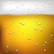 Vector illustration of a beer texture close up