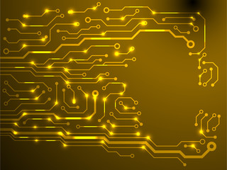 circuit board background. eps10 vector illustration