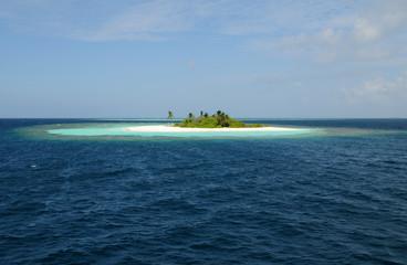 Kleine Malediveninsel