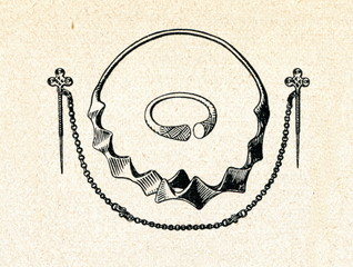 Middle Iron Age bronze jewellery (Latgale, Latvia)