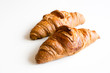 Fresh and tasty croissant