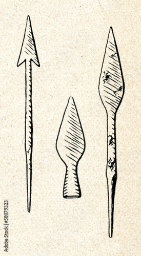 Middle Iron Age iron spearheads (Latgale, Latvia)