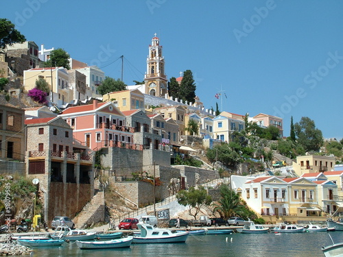 Island of Symi in Greece