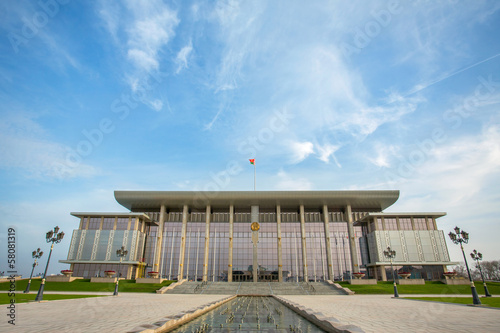 MINSK, BELARUS - NOVEMBER 1: Newly opened Palace of Independence