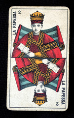 Carta dei tarocchi, la Papessa
