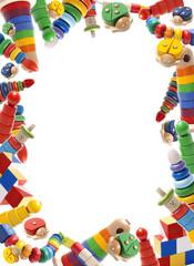 Color toys border