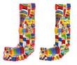 Wooden toys alphabet - letter J