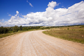 the road rural