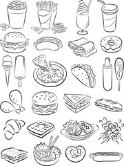 Fast food colection