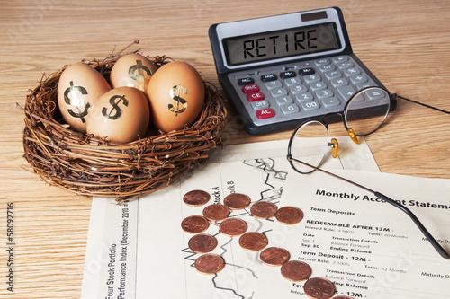 Retirement Planning - 58092716