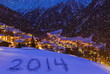 2014 on snow at mountains - Solden Austria