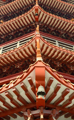 part of Chinese style roof