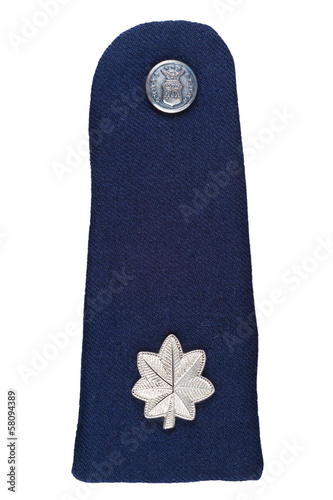 Military shoulder board of U.S. Lieutenant Colone