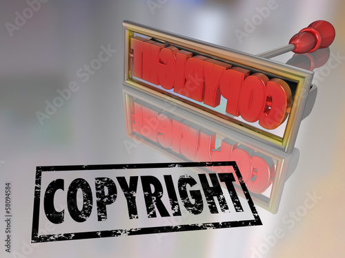 Copyright Branding Iron Name Product Protection