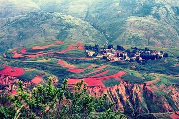 Hongtudi-dongchuan,Yunnan,China