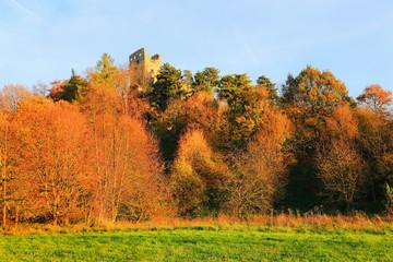 Castle Valecov in Bohemian Paradise, Czech Republic