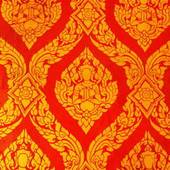 Thai art wall pattern