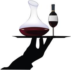 servizio vino