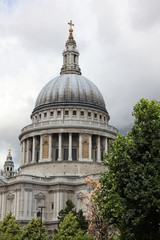 St Paul Cathedral in London, UK