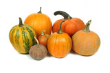Pumpkins isolated