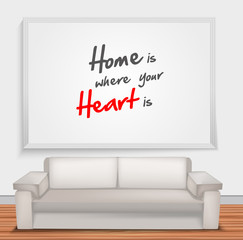 Home is when your is heart is