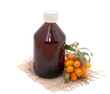 Cosmetic oil of sea buckthorn