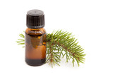 Cosmetic fir essential oil