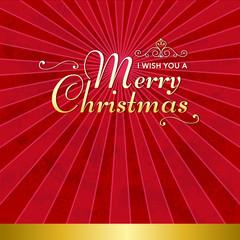 メリークリスマス Winter Holiday Background