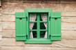 Leinwanddruck Bild - Romantic log cabin
