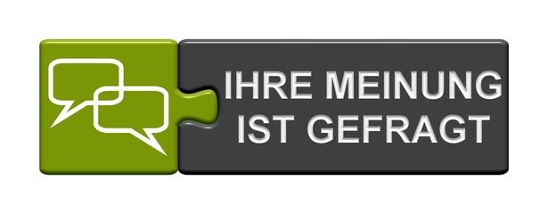 Puzzle-Button grün schwarz: Ihre Meinung ist gefragt