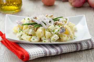 Insalata di aringhe e patate