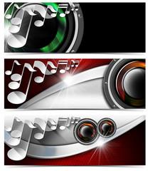Three Musical Banners - N5