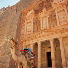 Visite de Pétra (Jordanie) - Khazneh